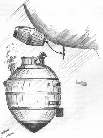 подводная лодка черепаха дэвид бушнелл
