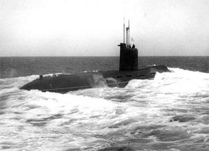 "подводница Б-380 ""Святой князь Георгий"""