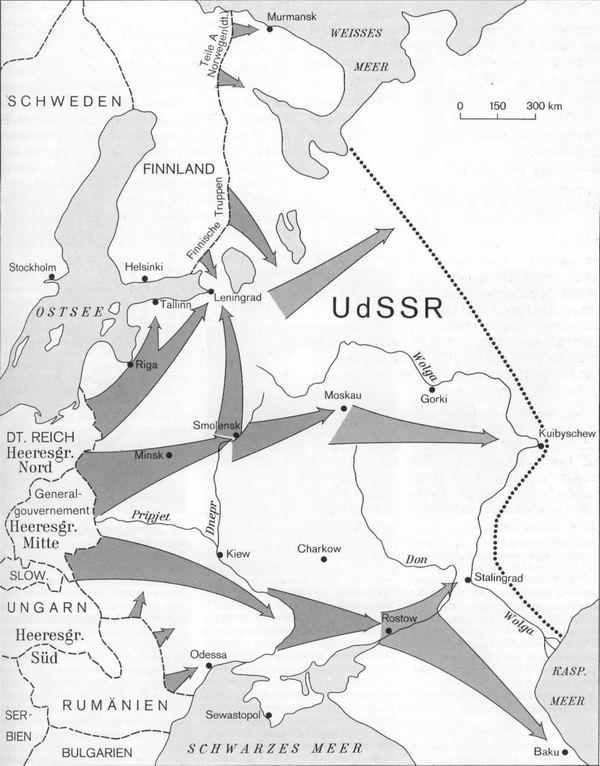 34 План нападения немецкого