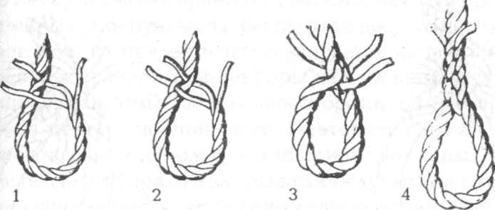 Огон на веревке из трех прядей