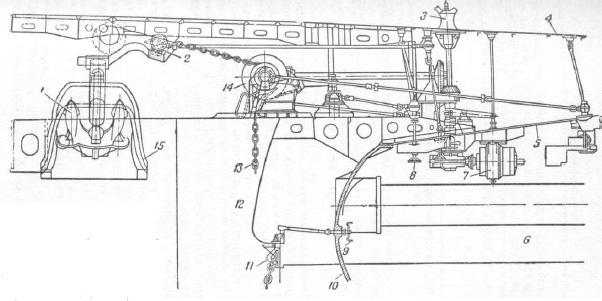 Якорное устройство подводной