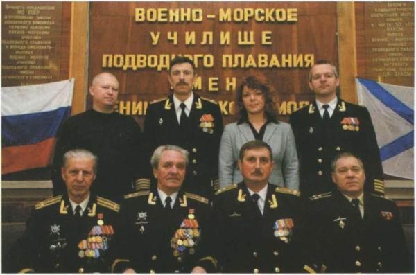 командиры первых атомных подводных лодок
