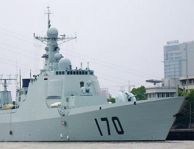 """есминец пр. 052С б/н 170 """"Ланьчжоу"""""""
