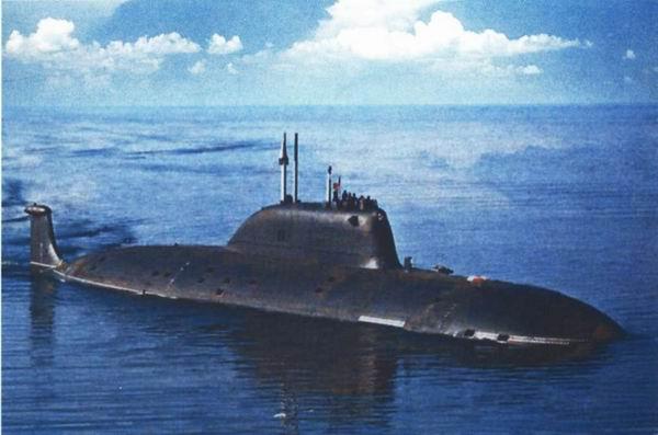 Атомная подводная лодка проекта 971 ртм