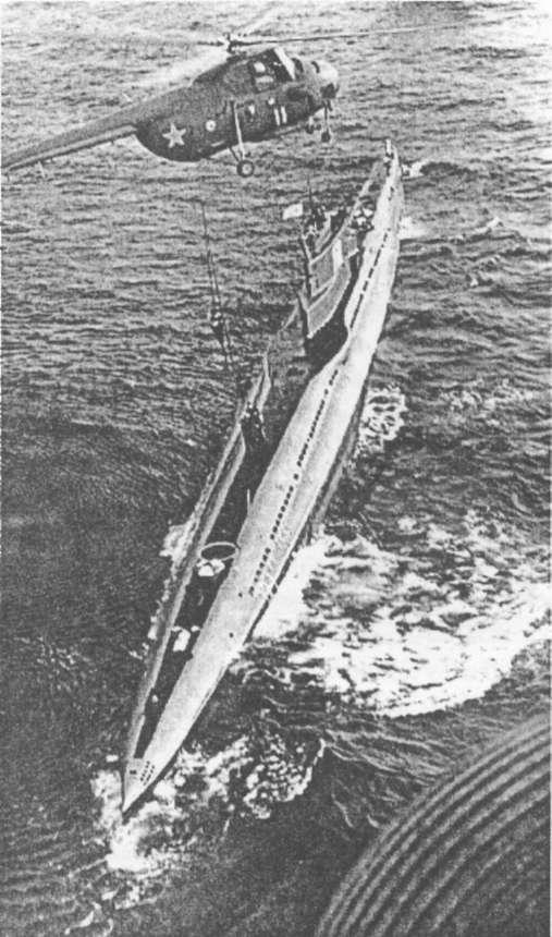 на подводную лодку проекта