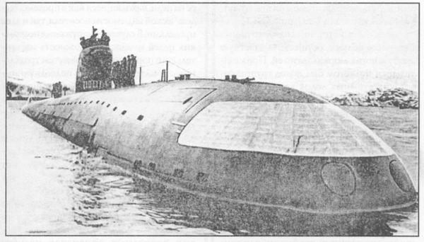 Первая подводная лодка К-3