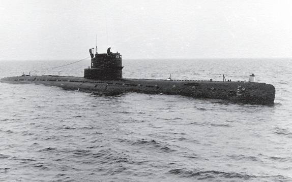 Дизельная подводная лодка
