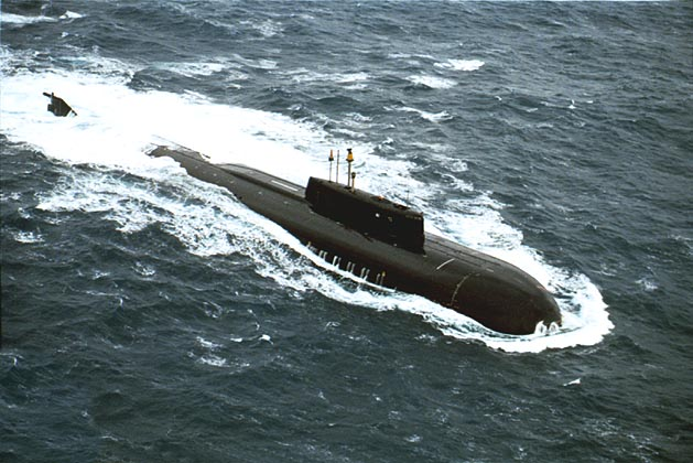 Подводная лодка пр 949а антей с