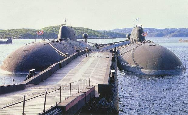 Подводная лодка пр 949 с крылатыми