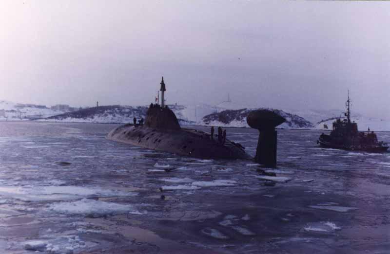 Многоцелевые атомные подводные лодки
