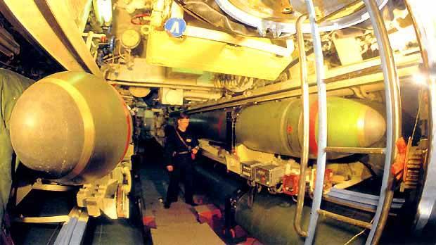 отсеки дизельной подводной лодки
