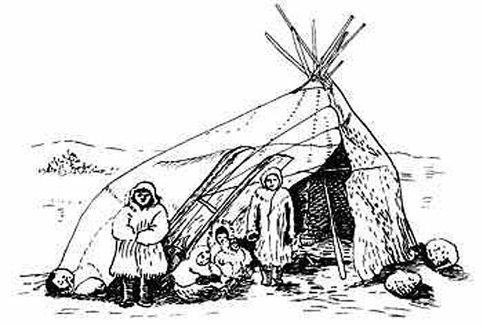Яранга эскимосов