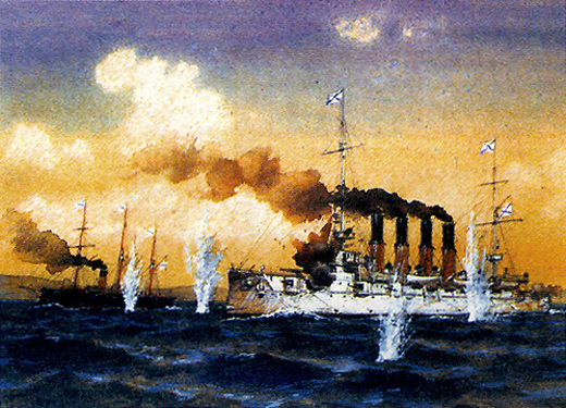 Начало русско-японской войны