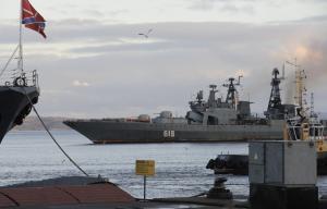 """БПК """"Североморск"""" вернулся в родную базу после антипиратской службы в Аденском заливе"""