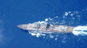 Ракетный крейсер ВМФ России вместо Кабо-Верде направлен в Средиземноморье