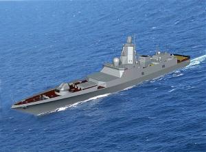 Головной фрегат проекта 22350 готовится к спуску