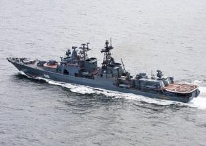"""БПК """"Североморск"""" ВМФ России продолжает успешно выполнять задачи по предотвращению пиратских нападений на гражданские суда"""