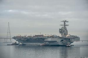 ��������� USS Gerald R. Ford �������� ���� ������ �������