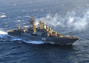 Отряд боевых кораблей Северного флота вышел из Североморска и взял курс на Северную Атлантику - Минобороны РФ