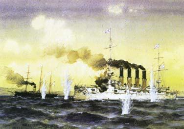 Сражение в бухте Чемульпо