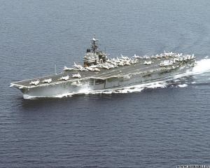 """USS """"Saratoga"""" (CV-60)"""