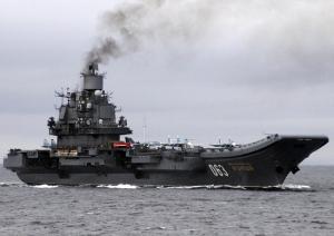 Корабельная авианосная группа Северного флота готовится к дальнему походу