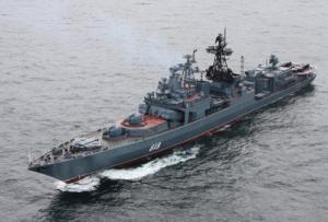 Соединению противолодочных кораблей Северного флота исполнилось 55 лет