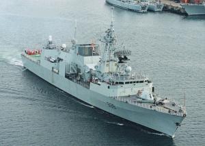 фрегата Charlottetown