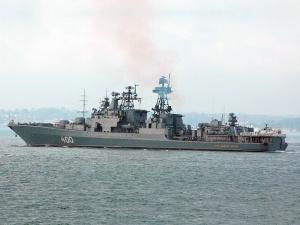 """Корабль Северного флота """"Вице-адмирал Кулаков"""" вышел в Средиземное море"""