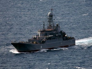В Средиземном море сосредоточены порядка 10 кораблей и судов ВМФ России