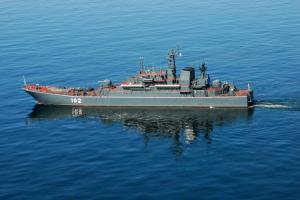 """Големия десантен кораб """"Калининград"""""""