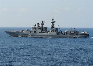 Корабли ВМФ России продолжат патрулировать район Аденского залива в 2011 году
