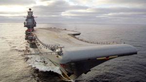 """""""Адмирал Кузнецов"""" впервые совершил заход в порт Лимасол на Кипре"""
