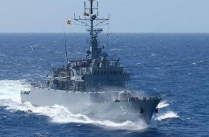 Фрегата Almirante Padilla типа FS-1500