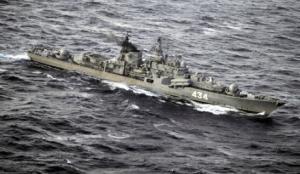 Группа кораблей Северного флота держит курс на Гибралтарский пролив