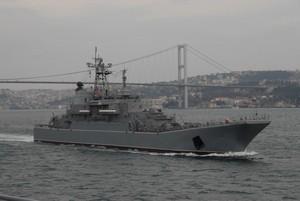 Российским десантным кораблям дали команду готовиться к походу в Сирию