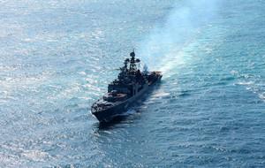 """Большой противолодочный корабль """"Североморск"""" отправился в дальний поход в Аденский залив"""