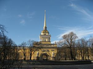 Главное Адмиралтейство в СанктПетербурге фото история