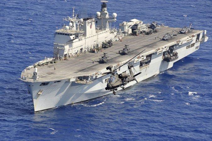 """Вертолетоносец """"Оушен"""" (HMS Ocean)"""