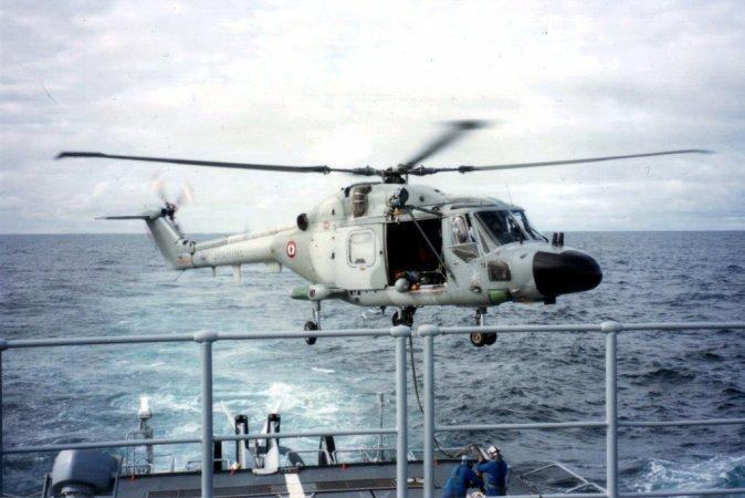 """Противолодочный вертолет """"Линкс"""""""