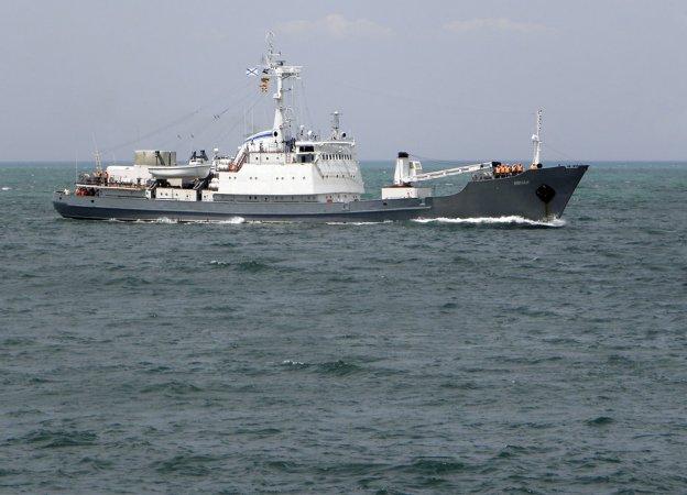 """Средний разведывательный корабль """"Лиман"""" (пр. 861М), Черноморский флот"""