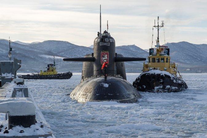 """Атомный ракетный подводный крейсер стратегического назначения проекта 667БДР """"Кальмар"""" - """"Святой Георгий Победоносец"""""""