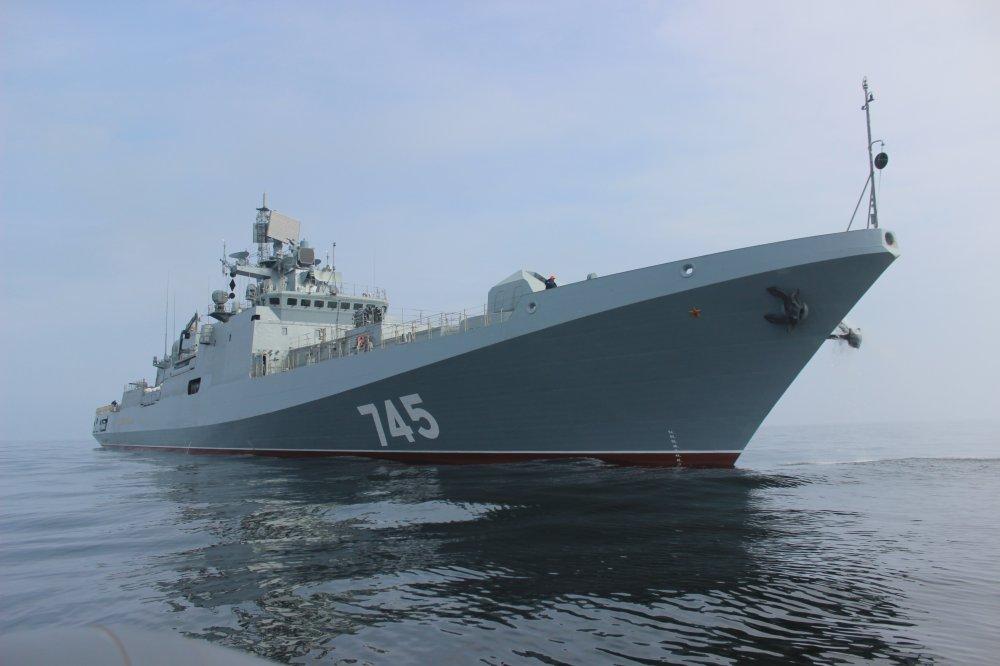 «Адмирал Григорович» вышел вСредиземное море— Курс наГрецию
