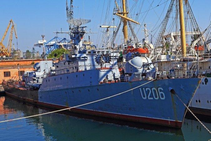 """Корвет """"Винница"""" в Одесском порту, ВМС Украины"""