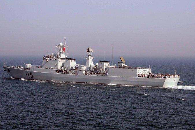 Боевые корабли России и Китая начали активную фазу совместного учения в Приморье