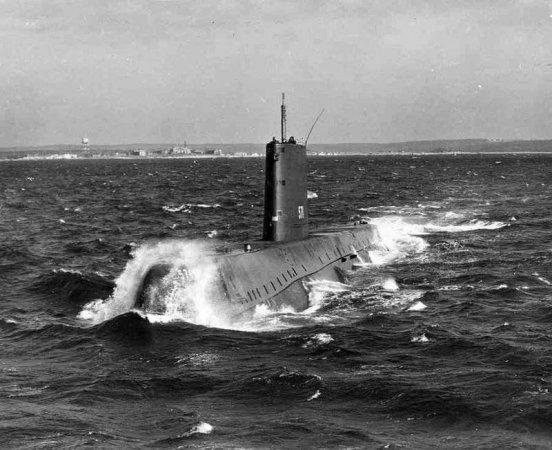 Первая АПЛ США Nautilus
