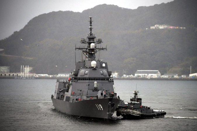 """Эсминец """"Асахи"""" (пр. 25DD), ВМС Японии"""