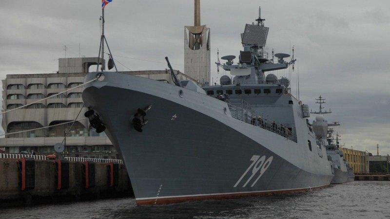 """Фрегат """"Адмирал Макаров"""" (пр. 11356)"""