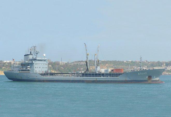 The tanker Spessart (archive photo)