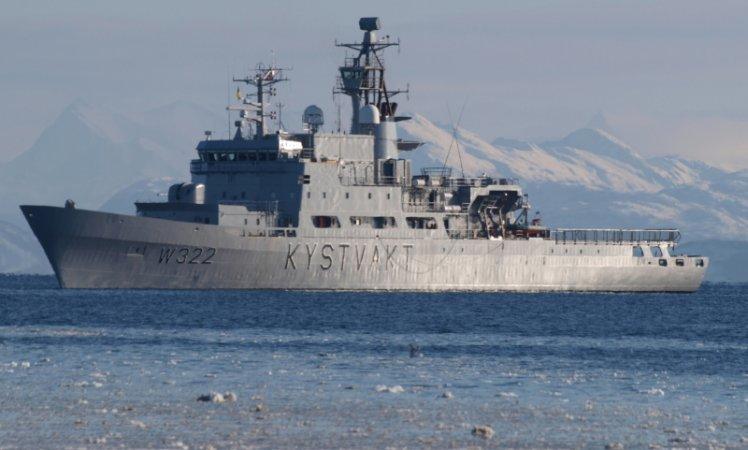 The patrol ship Andenes